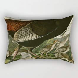 6 Wild Turkey Rectangular Pillow