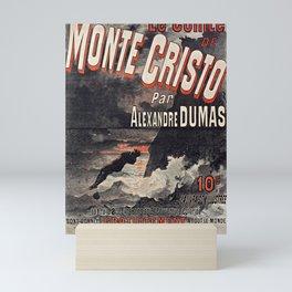 Le Comte de Monte-Cristo Mini Art Print