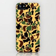 Frenchie Camouflage iPhone SE Slim Case
