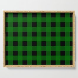 Pine Green Buffalo Check - more colors Serving Tray