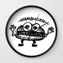 Hambuger Wall Clock
