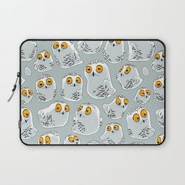 Snowy Owls. Laptop Sleeve