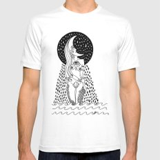 luna llorona Mens Fitted Tee White MEDIUM