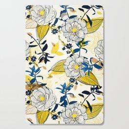 Flowers patten1 Cutting Board
