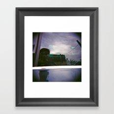 Icekat  & her Holga Framed Art Print