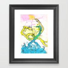 Dragon Whisperer Framed Art Print