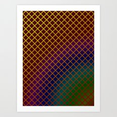 Geometric Abstraction. Art Print