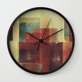 Abstract Geometry No. 21 Wall Clock