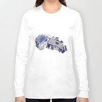 transformers Long Sleeve T-shirts featuring Transformers - Megatron by Evan DeCiren