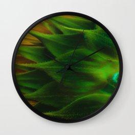 Sunny Back Wall Clock