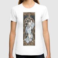 mucha T-shirts featuring A Scandal in Belgravia - Mucha Style by Alessia Pelonzi