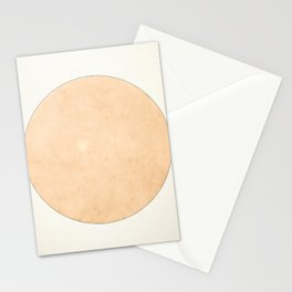 Imperial Beige - Moon Minimalism Stationery Cards