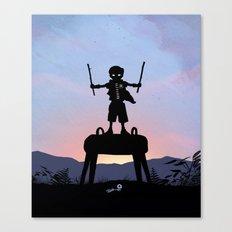 Robin Kid Canvas Print