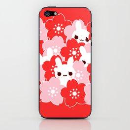 Sakura Bunny iPhone Skin