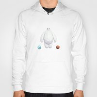 big hero 6 Hoodies featuring Big Hero 6 - BAYMAX by Dominika G