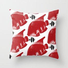 Fish 4 Throw Pillow