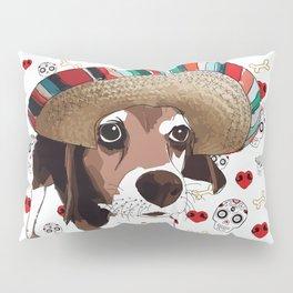Cinco de Beagle Pillow Sham