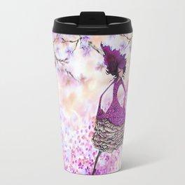 Paris petals Travel Mug