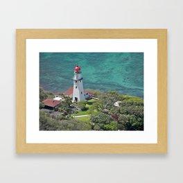 Light for the Journey Framed Art Print