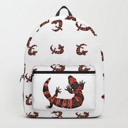 Gila Monster Pattern Backpack