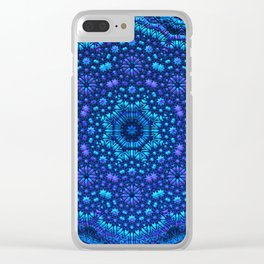 Mandala by Moonlight Clear iPhone Case