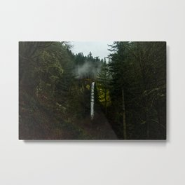 Tucked Away in the Columbia River Gorge Metal Print