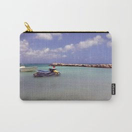 Jetskiing in the Caribbean Carry-All Pouch