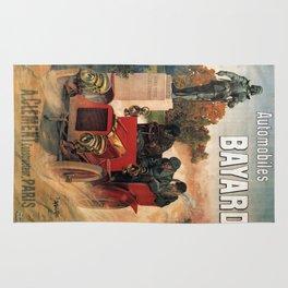 Vintage poster - Automobiles Bayard Rug