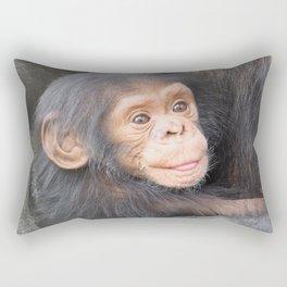 Chimpanzee Baby Rectangular Pillow