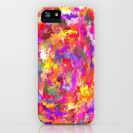 Watercolor and digital  iPhone Case