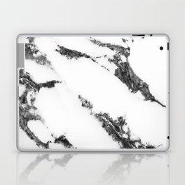 white marble no. 2 Laptop & iPad Skin