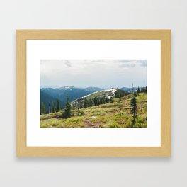 BITTERROOT MOUNTAINS  Framed Art Print