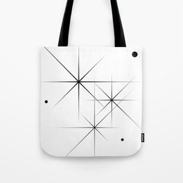 Silent Explosions Tote Bag