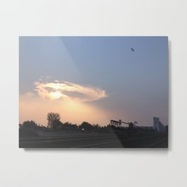 Terminal halo cloud Metal Print