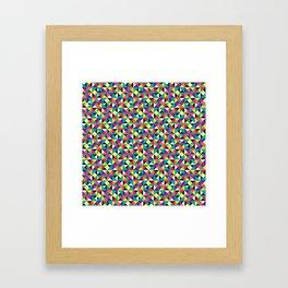 The Three Corners  Framed Art Print