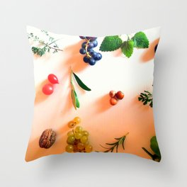 autunno made in italy Throw Pillow