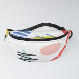 Memphis Zazzle Fanny Pack