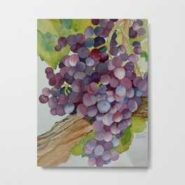 A Glass of Red wine Metal Print