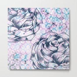 Pattern - Floral theme - 1 Metal Print