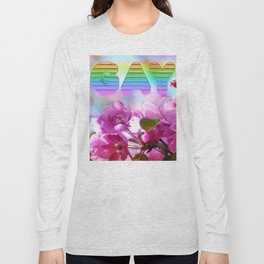 gay flowers Long Sleeve T-shirt