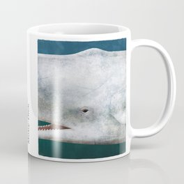Herman Melville's Moby-Dick - Literary book cover design Coffee Mug