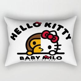 baby kitty Rectangular Pillow