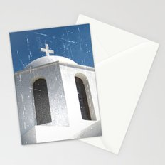 Greek Building  Stationery Cards