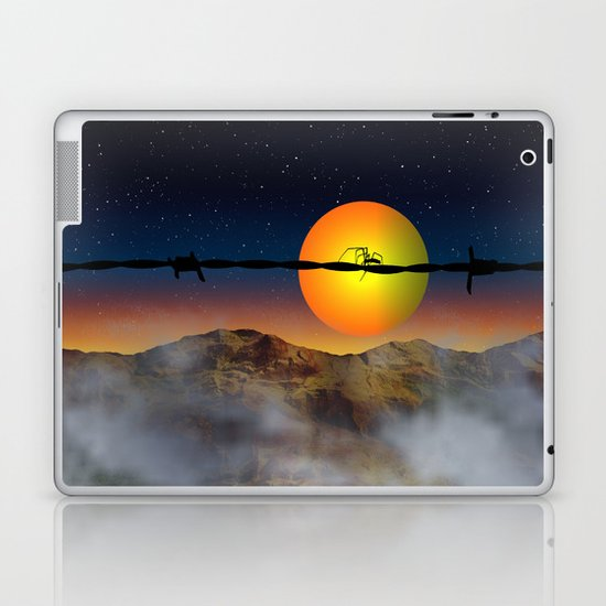 Step out of your comfort zone Laptop & iPad Skin
