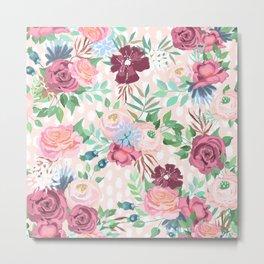 floral xii Metal Print