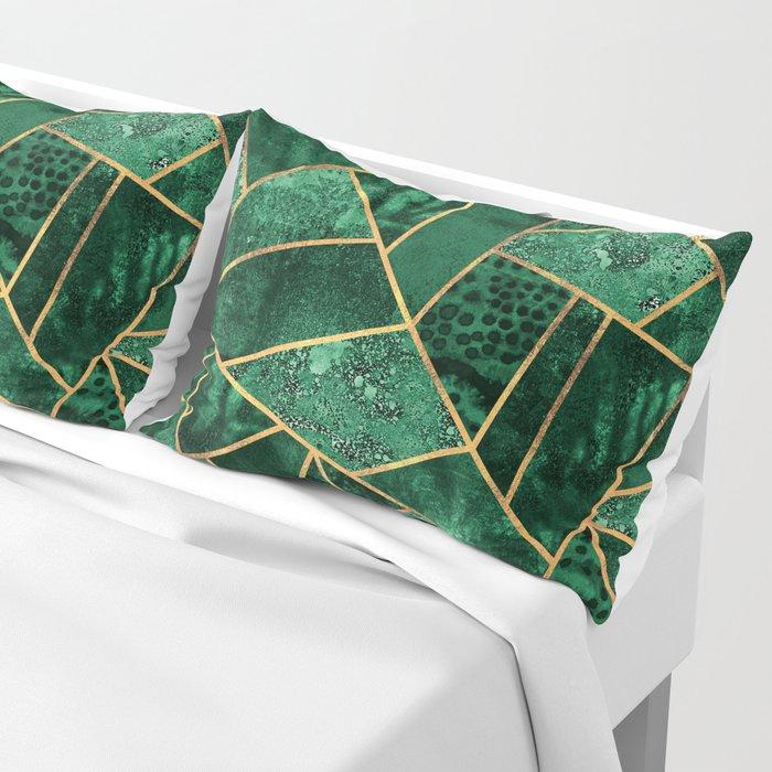 Deep Emerald Pillow Sham