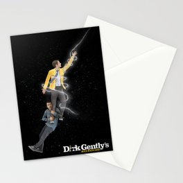 Dirk Gently ICARUS Original Art Poster Stationery Cards