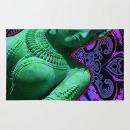 Indian Goddess Uttar Pradesh Apsara Rug