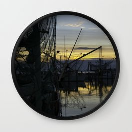 The End of The Day Wall Clock