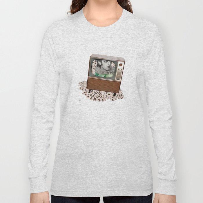 A antirosa atômica Long Sleeve T-shirt